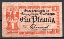 Thionville (Diedenhofen) Kriegsgefangene Billet De 1pf - Autres
