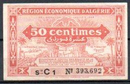 Algérie Billet De 50c 1944 Série C1 - Algérie