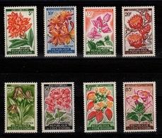 Cote D'Ivoire - YV 192A à 198 N** Complete - Fleurs - Ivory Coast (1960-...)