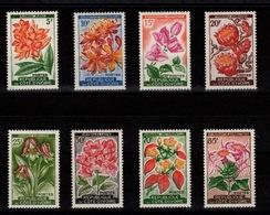 Cote D'Ivoire - YV 192A à 198 N* (tres Legere Trace) Complete - Fleurs - Ivory Coast (1960-...)