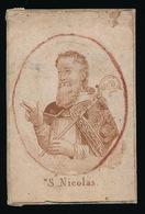 OUD HEILIG PRENTJE  S.NICOLAS 9.5 X 6.5 CM  2 SCANS - Images Religieuses