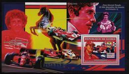 GUINEE BF 368 * *  ( Cote 13e ) Voitures Automobliles Michael Schumacher Prost Fangio Ferrari - Cars