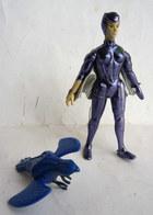 FIGURINE KENNER 1986 SILVERHAWKS STEELHEART RAYZOR COEUR D'ACIER Complet - Figurines