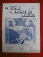AVIATION ET SPORTS REVUE ILLUSTREE LASSEUR DE RANSAY RAID CASABLANCA FEZ MOTOCYCLETTES COURSE PARIS REIMS 1911 N° 60 - Books, Magazines, Comics