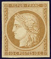 (*) No 1, Pelurage Au Verso Mais Très Frais Et TB D'aspect - 1849-1850 Ceres