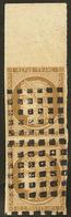 No 1, Paire Verticale Bdf, Obl Gros Points. - TB - 1849-1850 Ceres