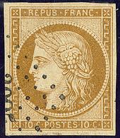 No 1a, Obl Pc, Ex Choisi. - TB - 1849-1850 Ceres