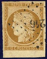 No 1a, Bdf, Obl Pc. - TB - 1849-1850 Ceres