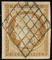 No 1b, Obl Grille, Jolie Pièce. - TB - 1849-1850 Ceres