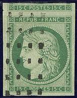 No 2, Un Voisin, Nuance Foncée, Obl Gros Points, Superbe. - R - 1849-1850 Ceres