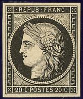 * No 3, Noir, Très Frais. - TB - 1849-1850 Ceres