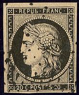 No 3, Obl étoile. - TB - 1849-1850 Ceres