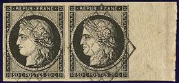 No 3, Paire Bdf, Jolie Pièce. - TB - 1849-1850 Ceres