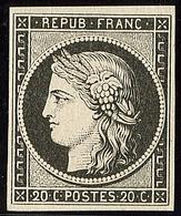 ** No 3a, Noir Sur Blanc, Très Frais. - TB - 1849-1850 Ceres