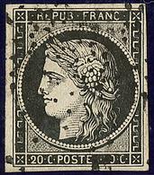 No 3a, Obl étoile. - TB - 1849-1850 Ceres