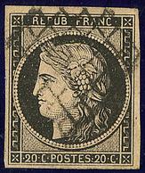 No 3b, Obl Grille. - TB - 1849-1850 Ceres