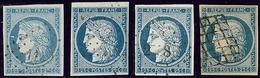 No 4, Nuances Et Obl Diverses. - TB - 1849-1850 Ceres