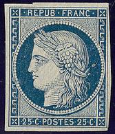 ** No 4a, Bleu Foncé, Jolie Pièce. - TB. - RR - 1849-1850 Ceres
