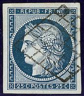 No 4a, Obl Grille, Ex Choisi. - TB - 1849-1850 Ceres
