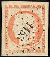No 5, Nuance Pâle, Obl Pc 1153, Jolie Pièce. - TB - 1849-1850 Ceres