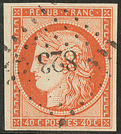 No 5, Obl Pc 823 De Chaumont En Bassigny, Jolie Pièce. - TB - 1849-1850 Ceres