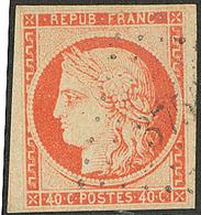 No 5, Un Voisin, Obl Pc. - TB - 1849-1850 Ceres