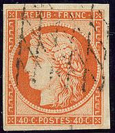 No 5a, Obl Grille Sans Fin. - TB - 1849-1850 Ceres