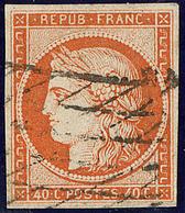 No 5b, Obl Grille Sans Fin. - TB - 1849-1850 Ceres