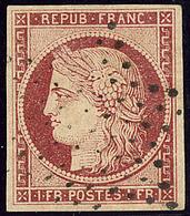 No 6, Obl étoile. - TB - 1849-1850 Cérès
