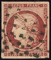 No 6b, Obl Gros Points. - TB. - R - 1849-1850 Cérès