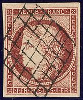 No 6B, Obl Grille, Très Jolie Pièce. - TB. - R - 1849-1850 Cérès