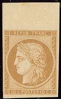 ** Réimpression. No 1f, Bdf, Très Frais. - TB - 1849-1850 Ceres