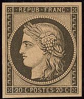 * Réimpression. No 3f. - TB - 1849-1850 Ceres