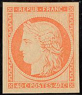 ** Réimpression. No 5g, Très Frais. - TB - 1849-1850 Cérès