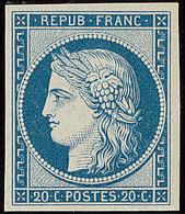 ** Réimpression. No 8f, Très Frais. - TB - 1849-1850 Cérès