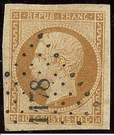 No 9a, Bistre-brun, Obl Pc 1178, Jolie Pièce. - TB. - R - 1852 Louis-Napoleon