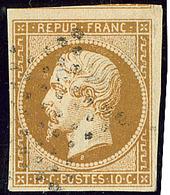 No 9b, Obl étoile, Un Voisin, Aminci Mais TB D'aspect (N°et Cote Maury) - 1852 Louis-Napoleon