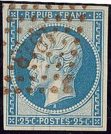 No 10, Obl Pc 1818 Rouge. - TB - 1852 Louis-Napoleon