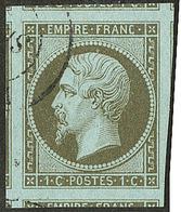 No 11, Sept Voisins, Obl Cad, Jolie Pièce. - TB - 1853-1860 Napoleon III