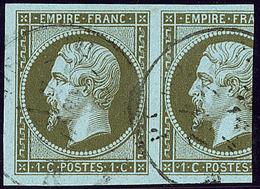 No 11, Un Grand Voisin, Obl Cad, Ex Choisi. - TB - 1853-1860 Napoleon III