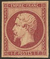 * Réimpression. No 18d, Forte Charnière Mais TB. - R - 1853-1860 Napoléon III