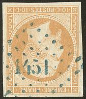 Oblitérations. Pc Bleu. No 13A, Obl Pc 1451. - TB - 1853-1860 Napoléon III