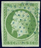 Oblitérations. Etoile Bleue. No 12. - TB - 1853-1860 Napoléon III