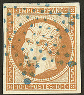 Oblitérations. Etoile Bleue. No 13A. - TB - 1853-1860 Napoléon III