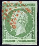 Oblitérations. Etoile Rouge. No 12. - TB - 1853-1860 Napoléon III