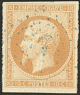 Oblitérations. Ancre Bleue. No 13A. - TB - 1853-1860 Napoléon III