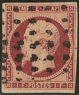 Oblitérations. Gros Points. No 18. - TB. - R - 1853-1860 Napoléon III
