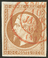 Oblitérations. Cad Rouge. No 13, Obl Cad De Paris. - TB - 1853-1860 Napoléon III
