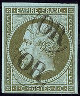 """Oblitérations. """"OR"""". No 11. - TB - 1853-1860 Napoléon III"""