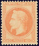 ** No 31, Orange, Très Frais. - TB. - R - 1863-1870 Napoléon III. Laure